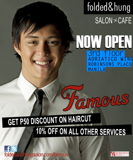 Enrique Gil for Folded and Hung Famous Salon