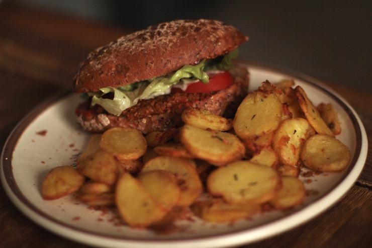 grünkernburger