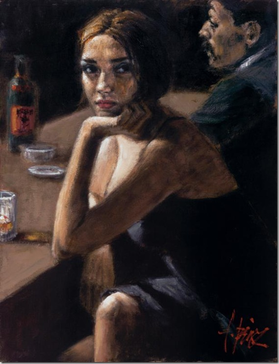 Fabian Perez 1967 - Argentine Figurative painter - Reflections of a Dream - Tutt'Art@ (13)