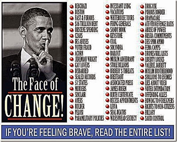 Face of Obama - Impeach Him