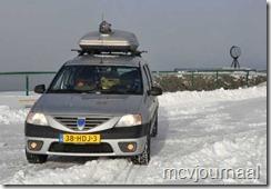 Arctic Roadtrip Erik met Dacia Logan MCV 14