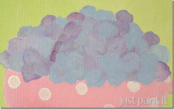 paint hydrangea 2