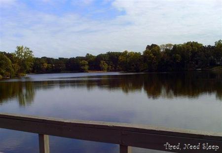 beautiful, unexpected lake