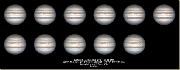 2 December 2012 Jupiter