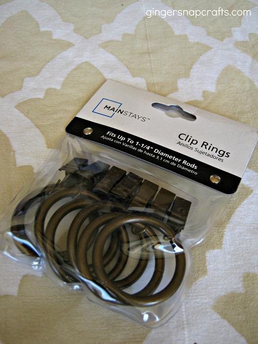 stencil curtain clips
