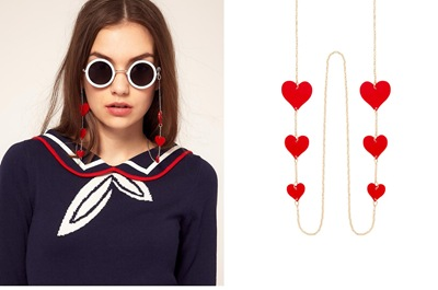 ASOS Hearts Sunglasses Chain