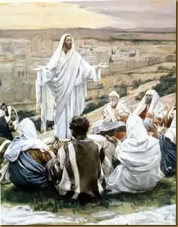 JESUS PREDICA EL REINO