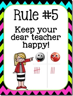 happy teacher freebie