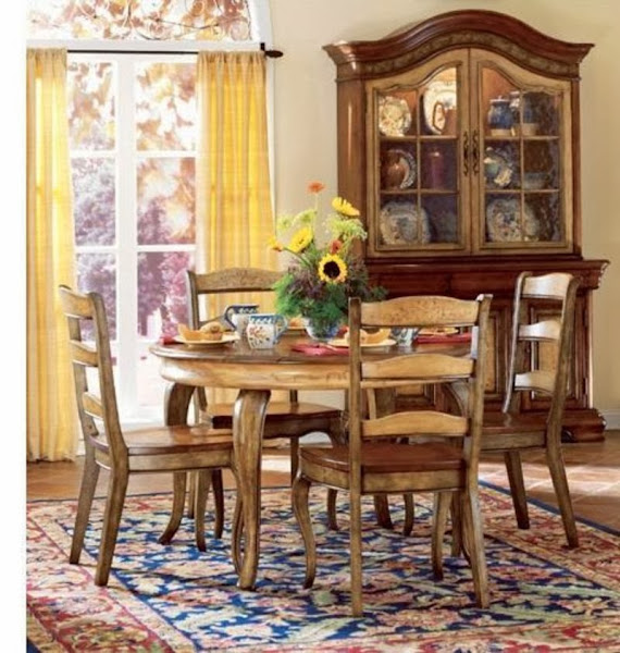 French Country Decor Endearing Of French Country Dining Room Decorating Photos