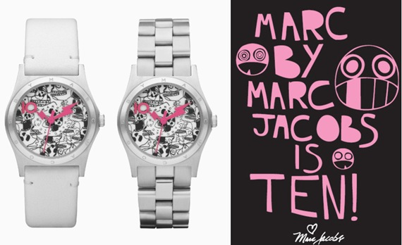 marc by marc jacobs 10 anos relogio