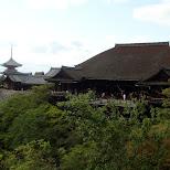 kiyomizu front view in Kyoto, Kyoto, Japan
