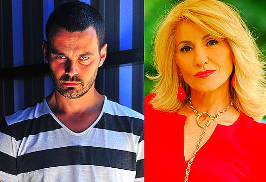 Carmo Dalla Vecchia e Cassia Kis Magro - Fotos: Estevan Avellar/João Miguel Junior/TV Globo