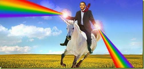 obama rainbo