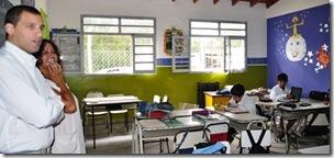 La Municipalidad inauguró un aula en la Escuela Primaria de Las Toninas