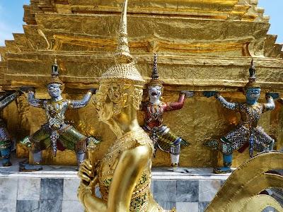 Statuie de aur din Bangkok