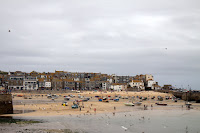 Low tide at St Ives