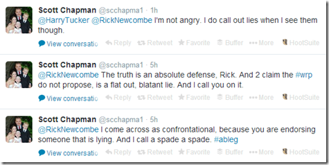 Scott Chapman tweet