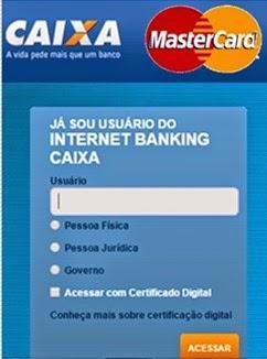 mastercard-fatura-caixa-economica-tirar-2via-www.2viacartao.com