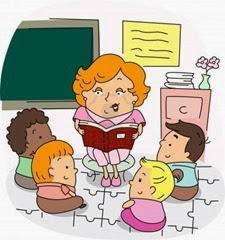 professora-contando-historias