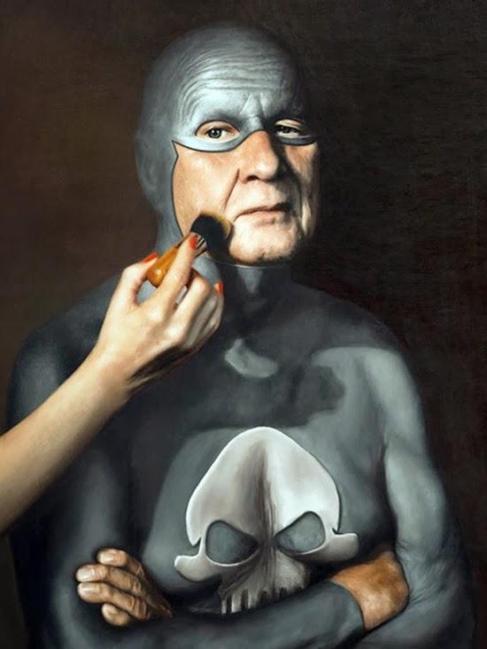 Velho super herói Fantasma 11