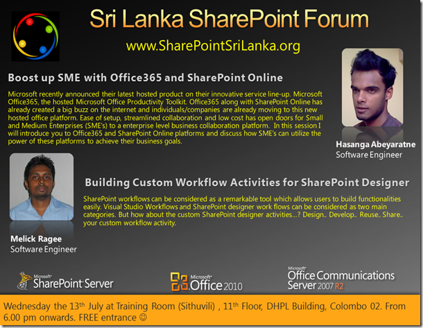 SharePoint Forum - 13th July[1]