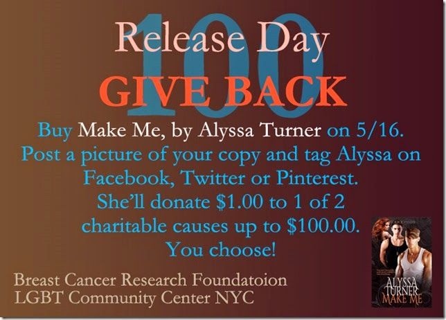 Give back graphic copy