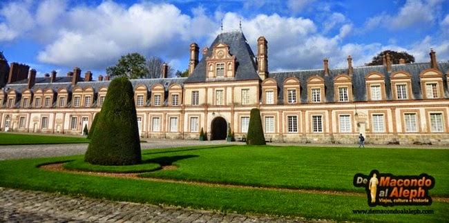 Visita Castillo de Fontainebleue 4