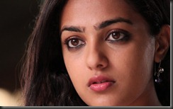 nithya menon close up photo