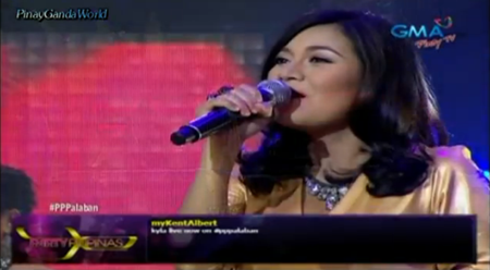 Kyla in Party Pilipinas