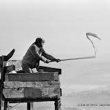 Le chatar pour diriger le vol vers les filets
