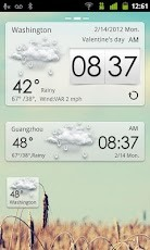 Descargar GO Weather EX para celulares gratis