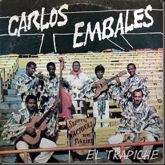 Carlos Embales, front
