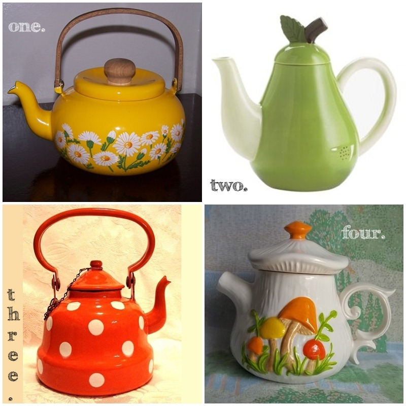 Vintage Tea Pots | allonsykimberly.com