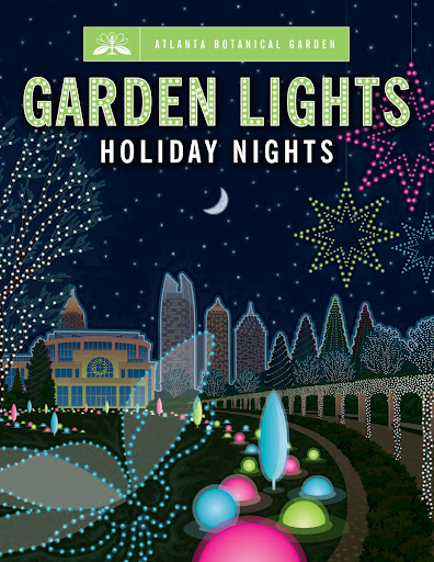 about garden lights holiday nights the atlanta botanical garden sparkles as a twinkling winter wonderland this holiday season with an elegant new - Atlanta Botanical Garden Lights