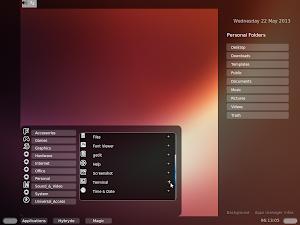 HY-D-V1 Desktop su Ubuntu Linux