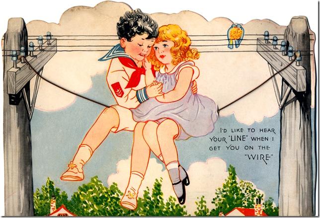 old valentines #136
