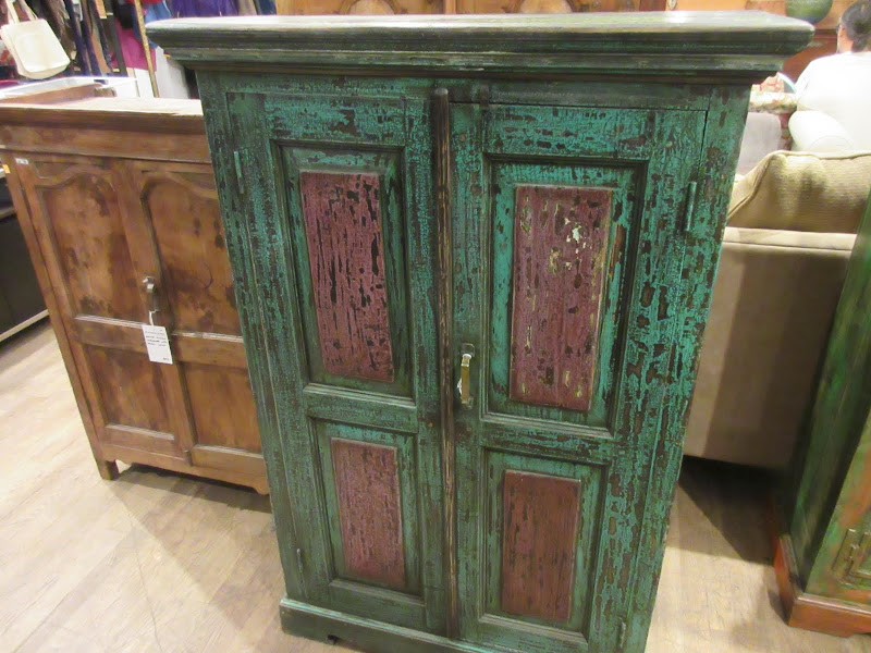 Indian Distressed Armoire