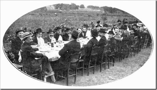 Banquete en la huerta de Silla