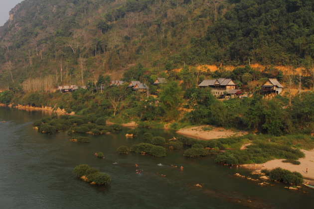 Nong Khiaw River side action