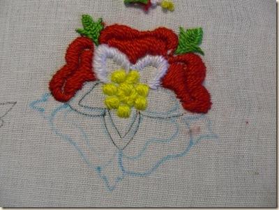 Tudor Rose WIP 2
