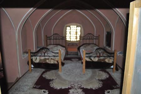 Cazare Iran: interior hotel Kashan