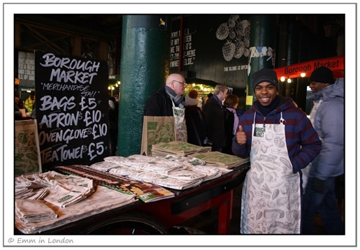 Borough Market - merchandise