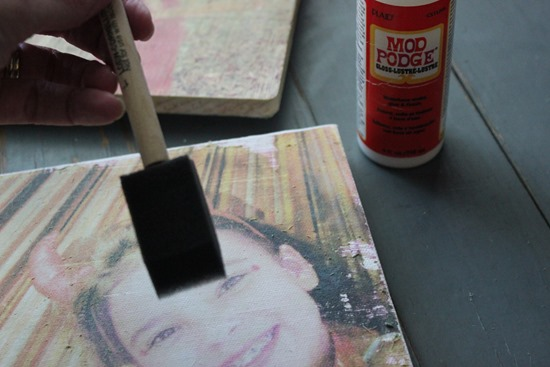 Canvas Photo Transfer Tutorial Wood Photo Transfer Tutorial