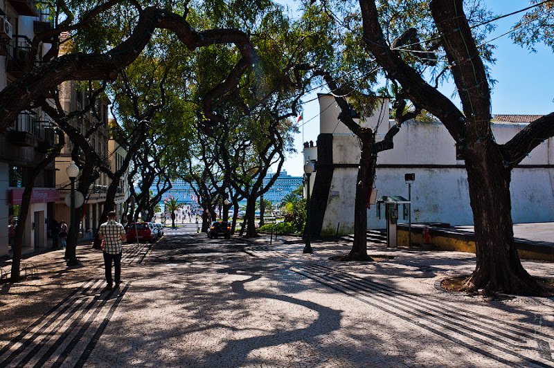 26. Фотопрогулка по улицам города. Улочки. Фуншал. Мадейра. Португалия. Круиз на Costa Concordia.