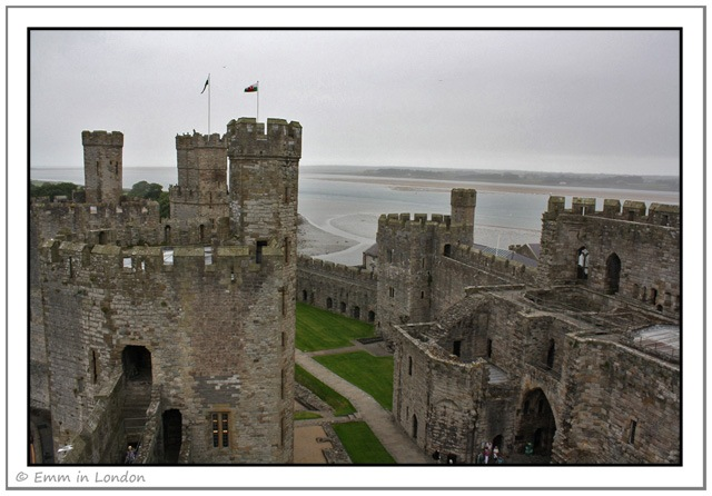 The Vastness of Caernarfon Castle