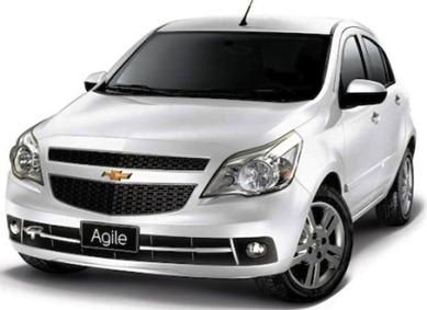 Chevrolet lança no Brasil carro com internet sem fio, o Agile Wi-Fi.