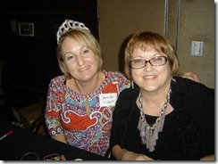 Southern Magic Luncheon 2012 Carla and Jennifer
