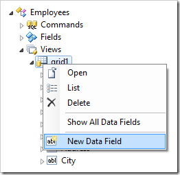 New Data Field for Employees controller