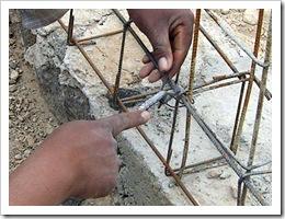 Building cadena under walls 019-1