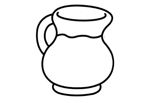 j for jug coloring pages - photo #26